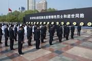 Hình ảnh Trung Quốc tổ chức quốc tang tưởng niệm nạn nhân của COVID-19
