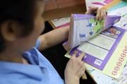 [Photo] NXB Giáo dục đảm bảo cung ứng đủ sách giáo khoa lớp 1