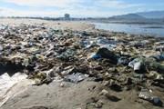 Hình ảnh rác thải 'bủa vây' các bãi biển ven bờ ở Ninh Thuận