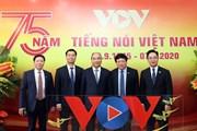 Thủ tướng dự kỷ niệm 75 năm Ngày thành lập Đài tiếng nói Việt Nam