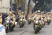 Hình ảnh Lễ phát động ra quân Năm An toàn giao thông 2021