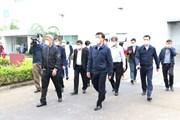 [Photo] Thứ trưởng Bộ Y tế kiểm tra công tác chống dịch tại Hải Dương