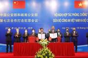 Hội nghị hợp tác giữa Bộ Công an Việt Nam và Bộ Công an Trung Quốc