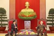 [Photo] Lãnh đạo Việt Nam tiếp Bộ trưởng Bộ Công an Trung Quốc