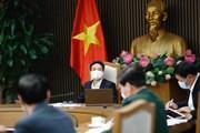 Phó Thủ tướng Vũ Đức Đam chủ trì họp về tình hình dịch tại Hải Dương