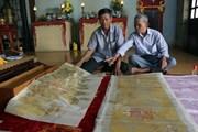 Gìn giữ các đạo sắc phong - 'báu vật' thiêng liêng của làng quê xứ Huế