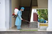 [Photo] Đảm bảo phòng, chống dịch trên quần đảo Trường Sa
