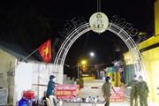 [Photo] Hà Nam: Cách ly xã hội xã Công Lý từ 0 giờ ngày 16/5