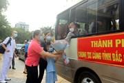 Đoàn y, bác sỹ Hải Phòng lên đường chi viện cho tâm dịch Bắc Giang