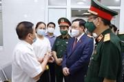 Hình ảnh Chủ tịch Quốc hội thăm, làm việc tại Học viện Quân y