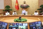 Thủ tướng chủ trì hội nghị triển khai Nghị quyết về phòng, chống dịch