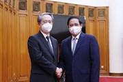 Hình ảnh Thủ tướng Phạm Minh Chính tiếp Đại sứ Trung Quốc tại Việt Nam