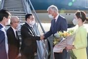 [Photo] Chủ tịch Quốc hội thăm làm việc tại Nghị viện châu Âu và Bỉ