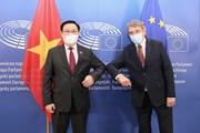 [Photo] Chủ tịch Quốc hội hội đàm với Chủ tịch Nghị viện châu Âu