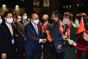 [Photo] Chủ tịch nước Nguyễn Xuân Phúc đã đến New York