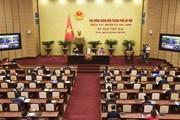 [Photo] Khai mạc kỳ họp thứ hai Hội đồng Nhân dân thành phố Hà Nội