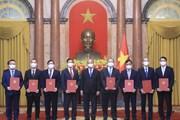 Chủ tịch nước trao quyết định bổ nhiệm 8 đại sứ Việt Nam tại các nước