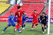 Nhìn lại những hình ảnh trong trận U23 Việt Nam-U23 Đài Bắc Trung Hoa