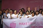 """""""Make up your life"""": Điểm tô hy vọng cho các nữ bệnh nhân ung thư vú"""