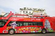 Trải nghiệm tuyến buýt 2 tầng Hanoi City Tour đầu tiên ở Thủ đô