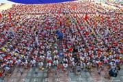 Khai giảng ở ngôi trường có số lượng học sinh lớp 1 đông kỷ lục Hà Nội