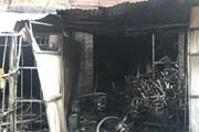 Toàn cảnh vụ cháy xưởng ghế sofa nghi có người chết ở KĐT Trung Văn