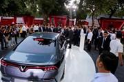 Toàn cảnh lễ ra mắt 3 mẫu xe ôtô và xe máy điện VinFast tại Hà Nội