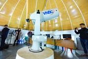 Khám phá bên trong đài thiên văn 60 tỷ đồng hiện đại nhất miền Bắc