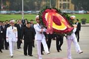Ông Kim Jong-un viếng Đài liệt sĩ và Lăng Chủ tịch Hồ Chí Minh