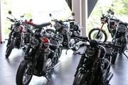 Khám phá showroom cao cấp của hãng xe Triumph tại Hà Nội