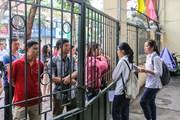[Photo] Trước giờ 86.000 học sinh Hà Nội bắt đầu môn thi đầu tiên