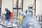 Trường học Hà Nội đồng loạt phun thuốc khử trùng phòng virus corona