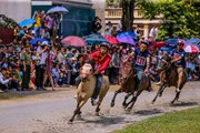 Những màn tranh tài kịch tính tại giải đua ngựa truyền thống Bắc Hà