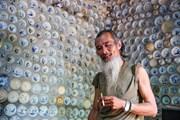 Ông Trường 'khùng' và căn nhà làm từ đồ gốm cổ độc đáo tại Vĩnh Phúc