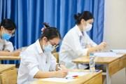 Thí sinh bắt đầu bước vào Kỳ thi trung học phổ thông quốc gia 2021