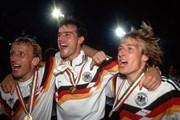 Hình ảnh chung kết World Cup 1990 giữa tuyển Đức và tuyển Argentina