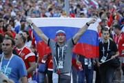 [Video] Niềm vui của các cổ động viên Nga sau khi thắng Tây Ban Nha