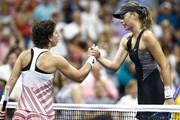 [Video] Maria Sharapova ''tặng'' quà sinh nhật cho đối thủ tại US Open