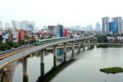 [Video] Chạy thử đoàn tàu tuyến đường sắt đô thị Cát Linh-Hà Đông