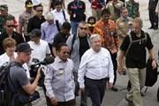 Tổng thư ký LHQ A.Guterres thăm khu vực bị thiên tai ở Indonesia