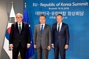EU-Hàn Quốc khẳng định cam kết về thương mại và an ninh