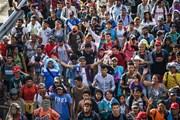 Hàng nghìn người di cư xuất hiện tại biên giới Mỹ-Mexico