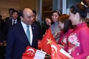 Thủ tướng Nguyễn Xuân Phúc về Hà Nội sau Hội nghị Cấp cao ASEAN