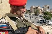 Quân cảnh Nga khẳng định vai trò gìn giữ hòa bình ở Syria