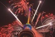 [Video] Quang cảnh bắn pháo hoa đón mừng năm mới ở New Zealand