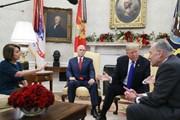 Tổng thống Mỹ bỏ họp vì bị đảng Dân chủ khước từ tường biên giới
