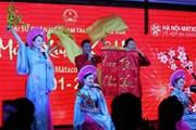 """Nhà hát Ca múa nhạc Quân đội biểu diễn """"Mừng Xuân Kỷ Hợi"""" tại Nga"""