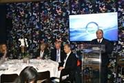 Thủ tướng Nguyễn Xuân Phúc tham dự hoạt động đầu tiên tại Davos