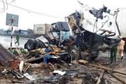 [Photo] Thanh Hóa: Tai nạn giao thông liên hoàn trên quốc lộ 1A