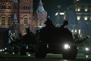 [Video] Thủ đô Moskva của Nga ngập tràn xe tăng và khí tài quân sự